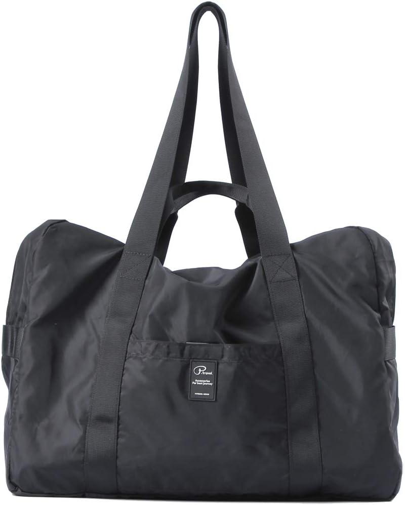 Travel Foldable Duffle Bag Gym Sports Lightweight Luggage Duffel Foldaway Unisex
