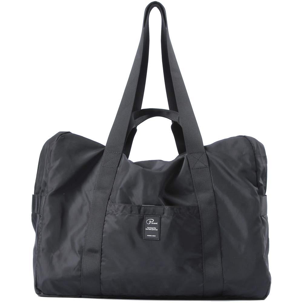 VanFn Travel Duffel Bag, Foldable Sports Duffels Gym Bag, Outdoor Totes, Sports Lightweight Shoulder Handbag, Rainproof Nylon Duffle Bags for Women Men, Outdoor Weekend Bag, P.Travel Series