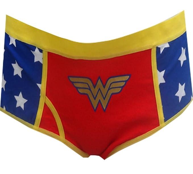31dcbf92fc9 Amazon.com  DC Comics Wonder Woman Panties -  Clothing