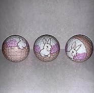 Easter Bunny Golf ball 3 pk