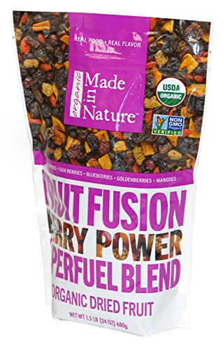 Made in Nature Fruit Fusion Berry Power Superfuel Blend (Organic Dried Fruit) 1.5 Pounds by Made in Nature, LLC.