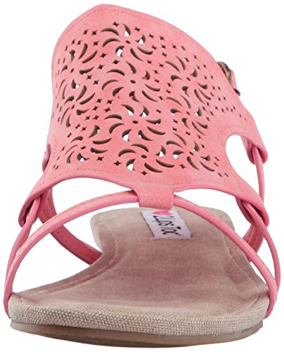 Lips 2 Too Coral Dress Women Cassie Sandal q7wHfZq