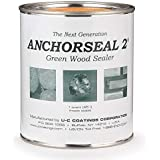 Anchorseal 2 Green Wood Sealer Quart by UC COATINGS CORP