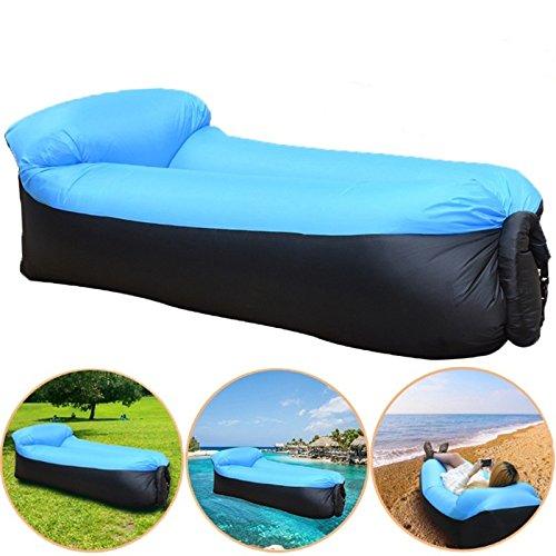 Soviton Lazy Lay Bag - Puf hinchable para sofá, tumbona y ...