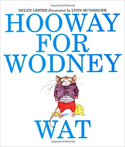 Hooway For Wodney Wat Book Pdf
