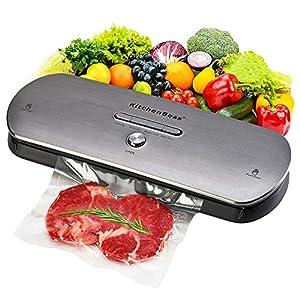 Macchina Sottovuoto per Alimenti KitchenBoss Sottovuoto Macchina Vacuum Sealer Professionale Automatica Portatile con… 16