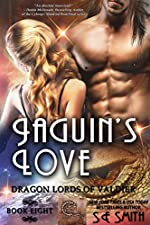 Jaguin's Love: Science Fiction Romance (Dragon Lords of Valdier Book 8)