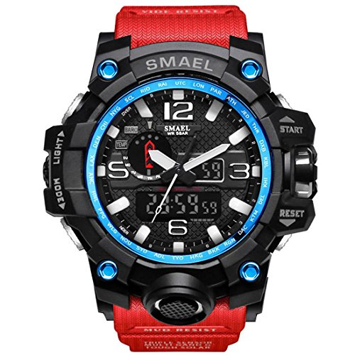 Led Watch Red Light in US - 8