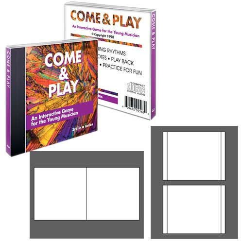 Jewel Case Insert Sets (NEATO High Gloss Jewel Case Inserts - 100 Sets - CIP-192408)