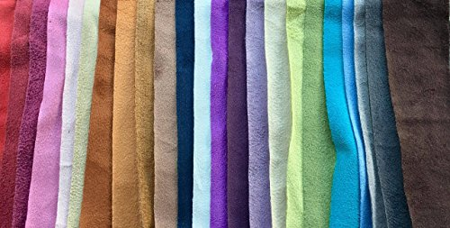 Stretch Faux Suede Polyester Spandex Assorted Colors Apparel Clothing Cosplay Costume Accessories Boots Fabric by The Yard 58