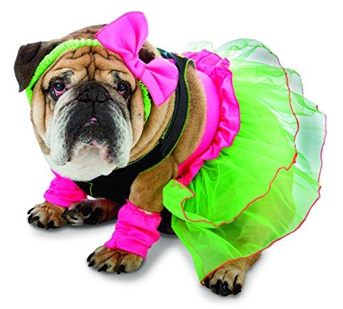 Rasta Imposta 80's Party Dog Costume, X-Large