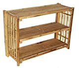 Bamboo54 Patio Buffet Table with Shelf