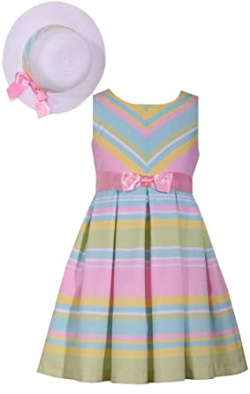 Bonnie Jean Girls Spring Easter Linen Lace Lilac Dress /& Jacket Set 7-16 New