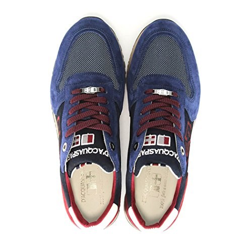 D'ACQUASPARTA BOTTICELLI BLUE/RED SNEAKER