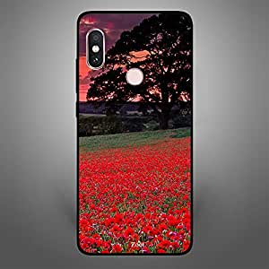 Xiaomi Redmi Note 5 Pro Red Garden Dark Clouds