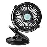 Best  - USB & Battery Powered Desktop Clip Fan Low Review