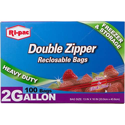 freezer bag 2 gallon - 8