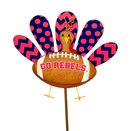 The Round Top Collection Ole Miss Turkey - University of Mississippi - Metal