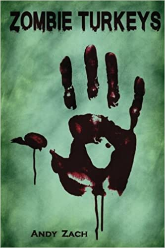The front cover of Zombie Turkeys
