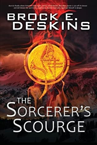 book cover of The Sorcerer\'s Scourge