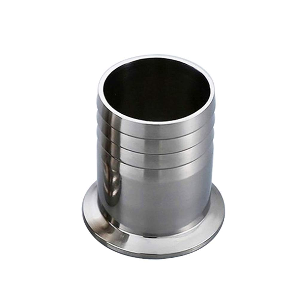 Metalwork 2'' Tri Clamp to 2'' Hose ID Barbed Adapter SUS304 Sanitary Hose Pipe Fitting (2 inch)