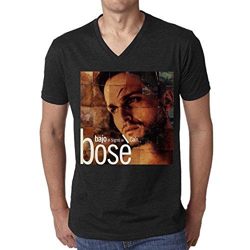 miguel-bose-bajo-el-signo-de-can-cool-mens-t-shirt-v-neck