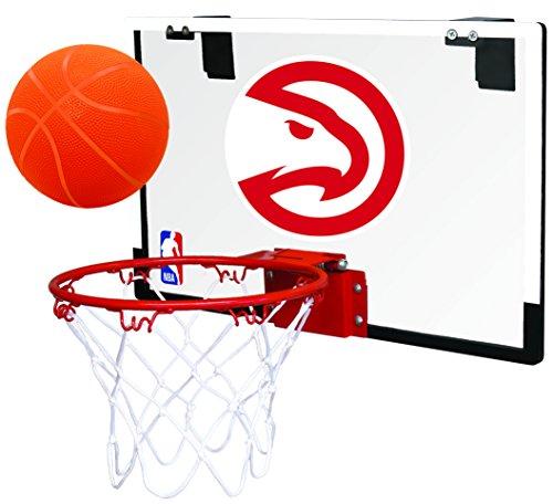 Rawlings NBA Atlanta Hawks 00664203111NBA Game On Polycarbonate Hoop Set (All Team Options), Red, Youth ()