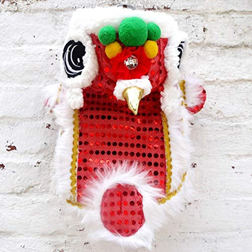 Chinese New Year Lion Dance Costumes - NACOCO Cute Dance Lion Pet Costume