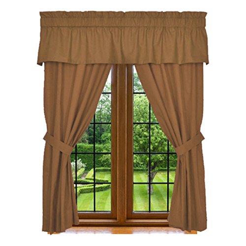 Window Curtain Panels Valance Washable