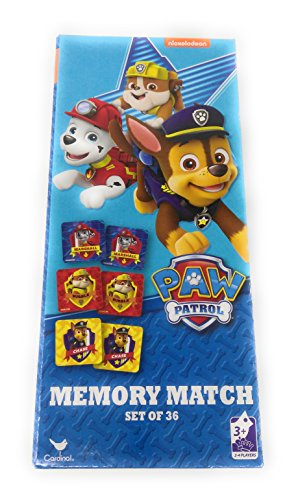 Kids Hot SELLER 8 Piece Nickelodeon Memory Match Game Marshall's Paw Patrol (Homemade Pooh Bear Costumes)
