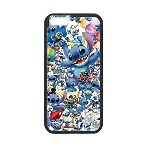 iphone6s 4.7 inch Phone Case Black Lilo and Stitch UYUI6820228