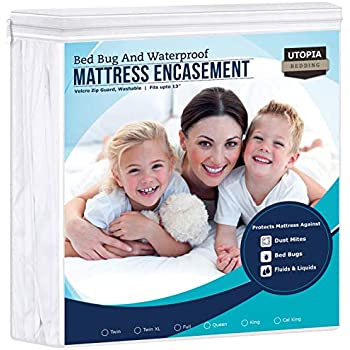 BOX SPRING COVER Slumbershield Bedbug Dustmite Protection FULL 54x75 Antiallergy
