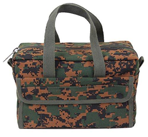 Rothco Mechanics Tool Bag, Woodland Digital Camo - Military Tool