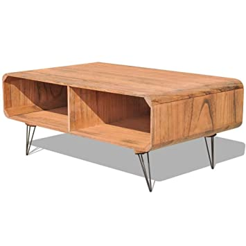 vidaXL Couchtisch Holz Wohnzimmertisch Kaffeetisch Tisch ...