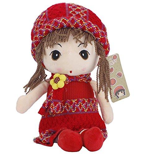 Sealive Cute Little Girl Plush Toys Stuffed Plush Doll Plush Pillow Baby Shower Birthday Gift Xmas (Beaker From Muppets)