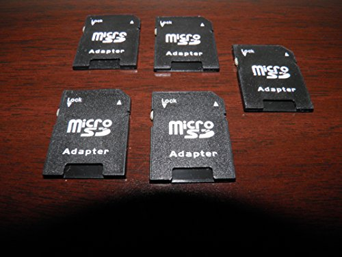 (5 pack microSD Wafer adapters for use with the SD Wafer Drive (Coleco, ATARI))
