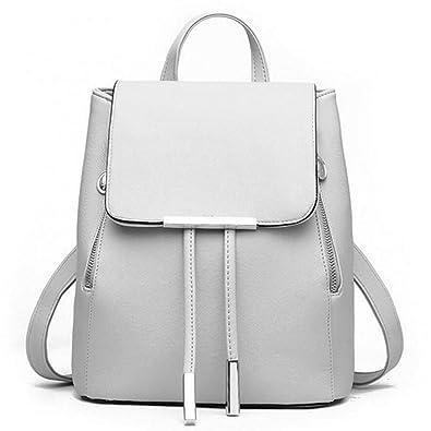 Image Unavailable. WINK KANGAROO Fashion Shoulder Bag Rucksack PU Leather  Women Girls Ladies Backpack Travel ... 82ed2713f1b7f