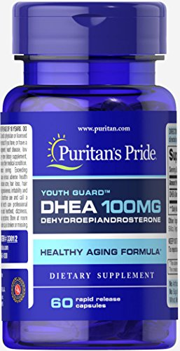 Puritans Pride DHEA mg 60 Capsules product image