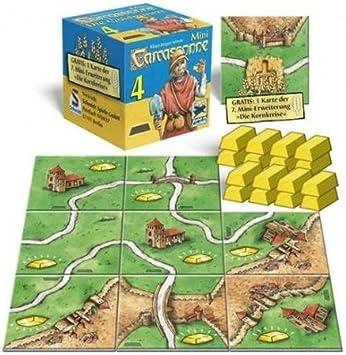 Mini Carcassonne 4 - Minas de Oro: Amazon.es: Juguetes y juegos