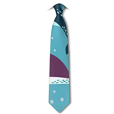 Xukmefat Dolphin And Whale Mens Tie Hipster Corbatas clásicas ...