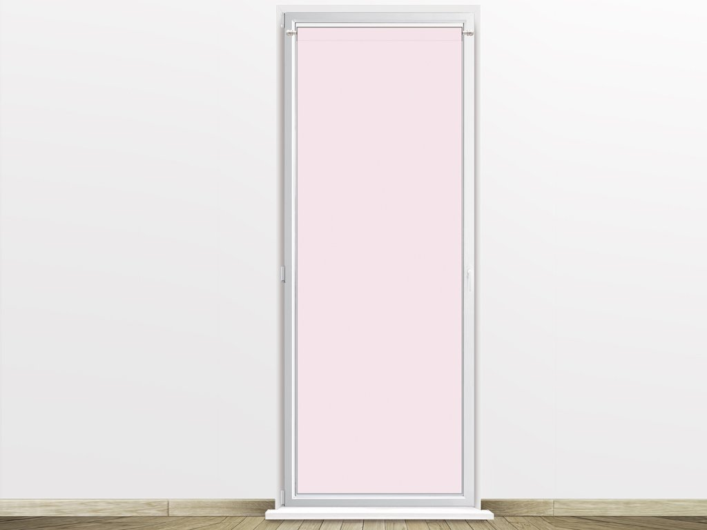 Soleil d'ocre 046551 Tendina a vetro 70 x 200 cm DOLLY rosa SELARTEX