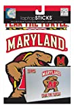 me and my BIG ideas laptopSTICKS Removable Laptop Stickers, Maryland Terrapins (Terps)