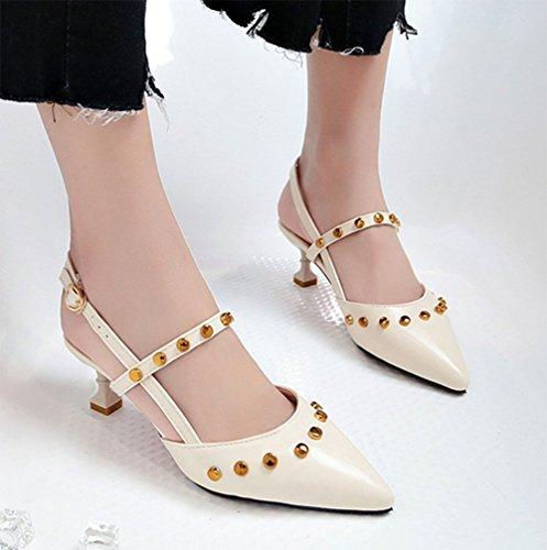 Nieten Frauen KUKI Sandaletten 3 High Heel FCRqBPw