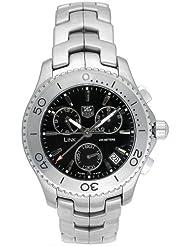 TAG Heuer Mens CJ1110.BA0576 Link Quartz Chronograph Watch