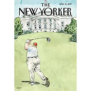 The New Yorker, April 10th 2017 (Amy Davidson, Alec Wilkinson, Calvin Tomkins) Periodical