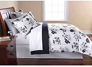 Amazon Com Keeco Mainstays 8 Piece Opp Floral Bed In Bag