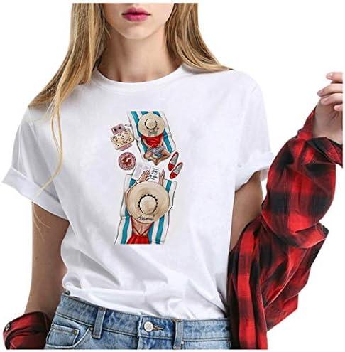 レディース シャツ 夏 丸首 上着 プリントティー Tシャツ レディース カットカジュアル ソー シンプル カットソー コメント カジュアル ゆったり 着やせ 人気 フ 大きいサイズ シャツ 創意 デザイン 母の日