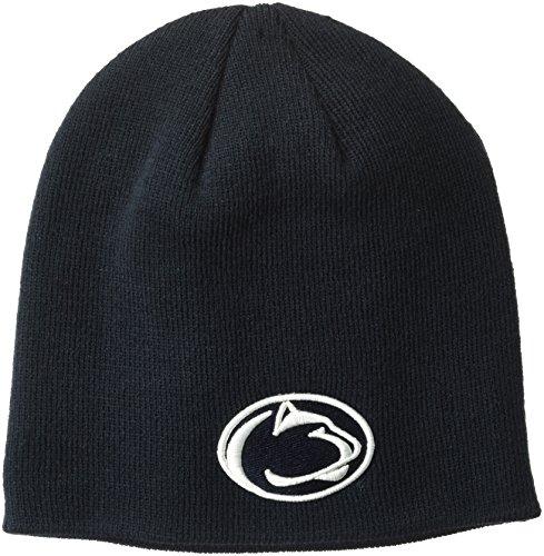 NCAA Penn State Nittany Lions Edge Knit Beanie, Adjustable, Team Color Penn State Beanie