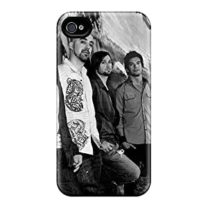 Scratch Protection Hard Cell-phone Cases For Iphone 4/4s (pao15711QASy) Provide Private Custom High-definition Linkin Park Pictures