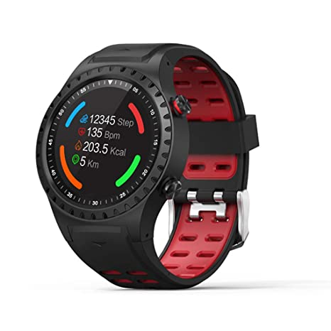 Haludock M1 Multi-Sport Outdoor-Modus Touchscreen IP65 Bluetooth Wasserdicht Smart Watch Wasserdicht Professioneller GPS-Trac